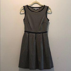 Max Studio houndstooth dress